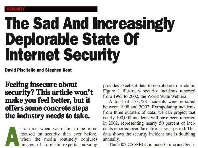 Sadanddeplorablesecurity2003