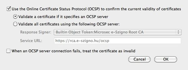Mac users listen up! Enable certificate checking - The