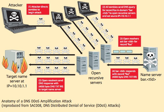 Anatomy of DNS DDoS Attack - The Security Skeptic