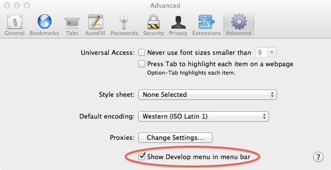 Safari_ShowDevelop